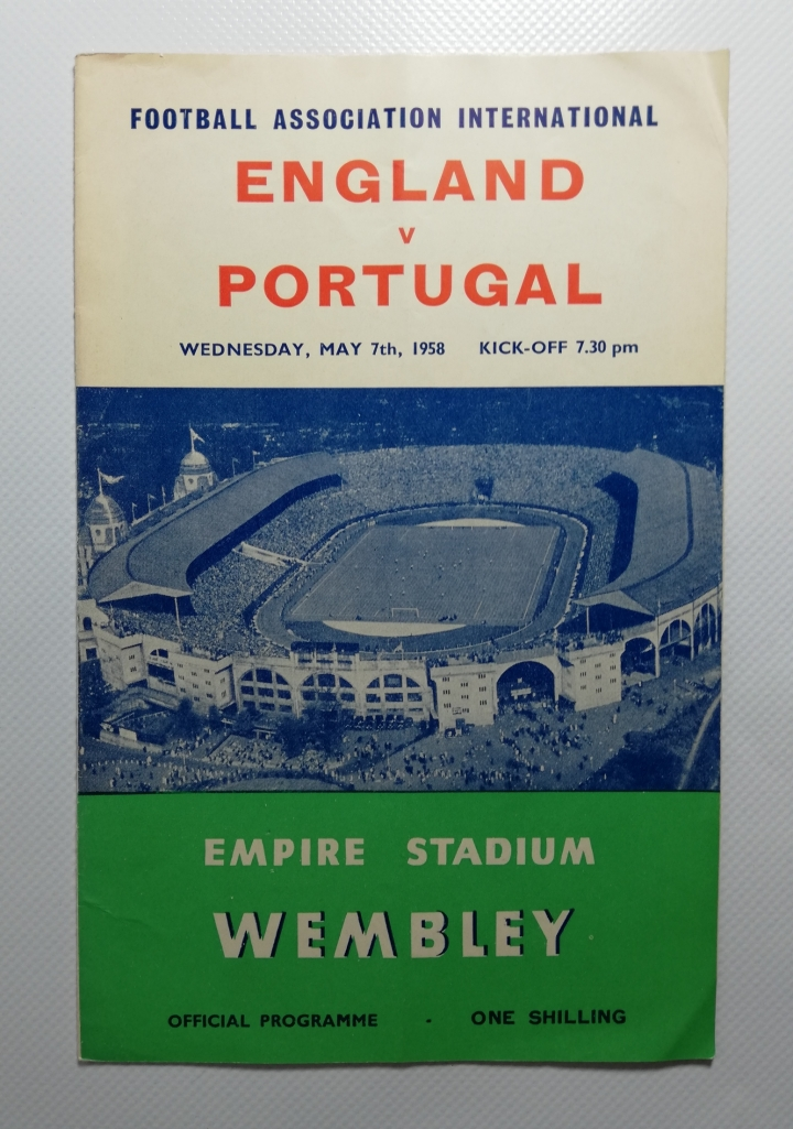 1958 England vs Portugal