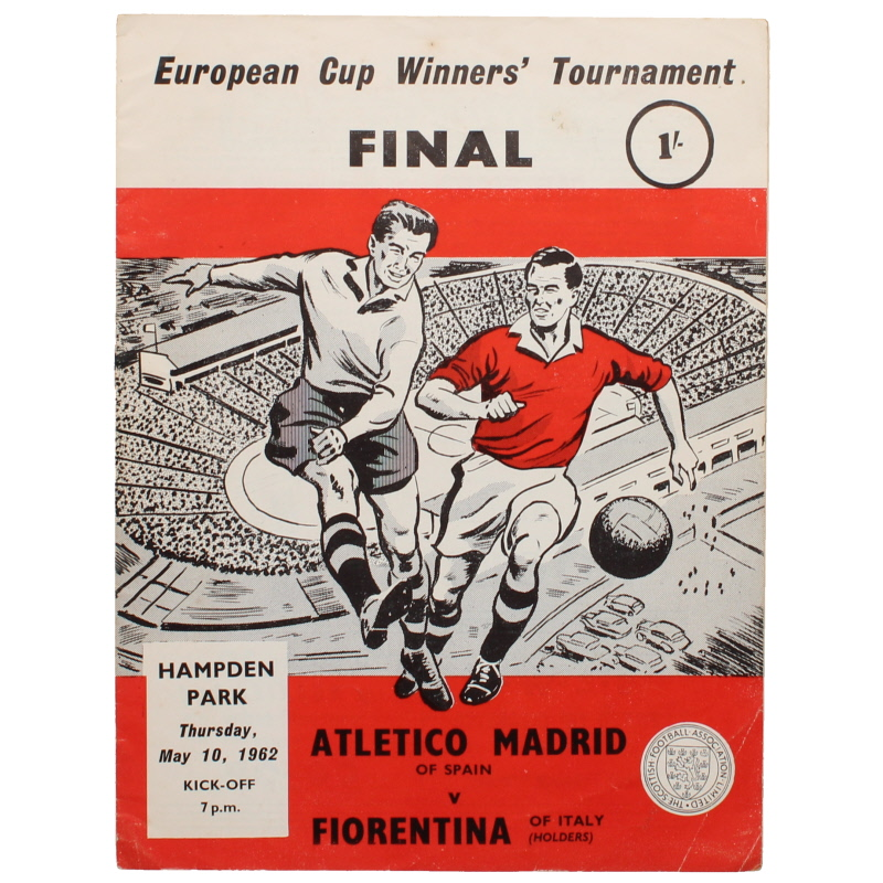 1962 European Cup Winners Cup Final Athletico Madrid vs Fiorentina