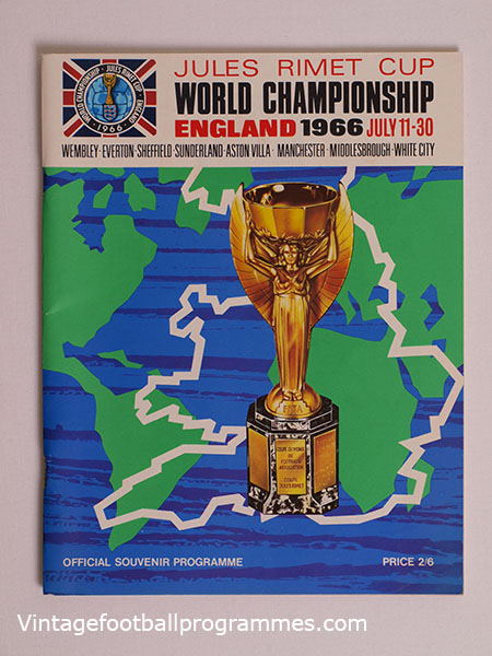 1966 World Cup Programme, Tournament Brochure