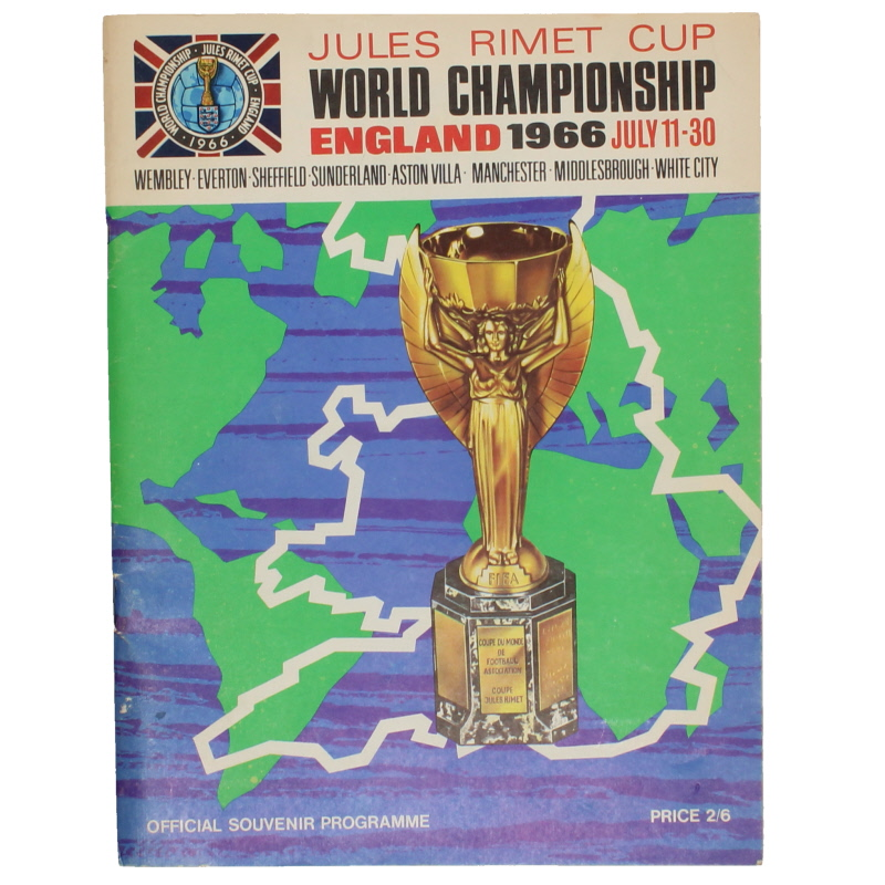 1966 World Cup Programme Tournament Brochure