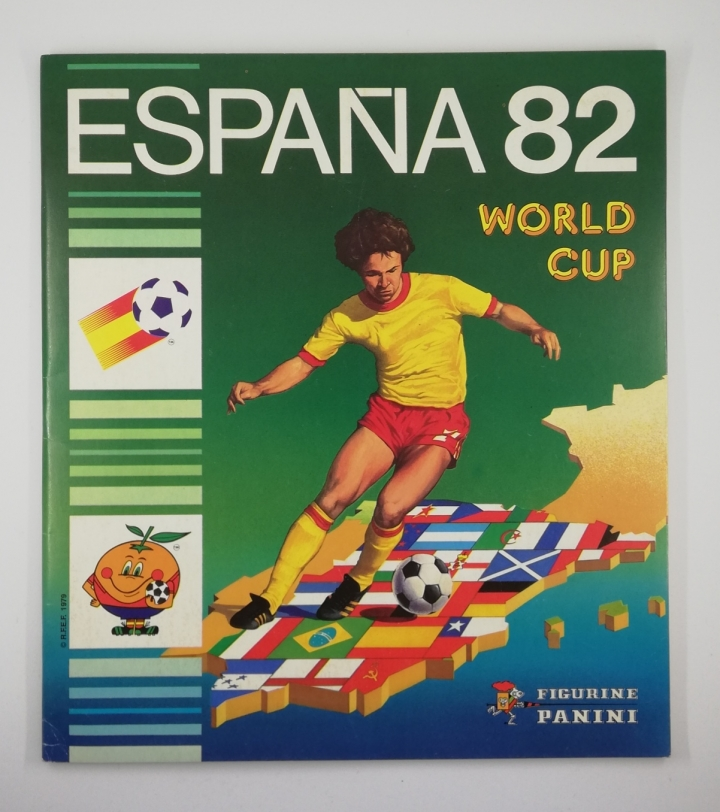 1982 Panini World Cup Spain Sticker Album (empty)