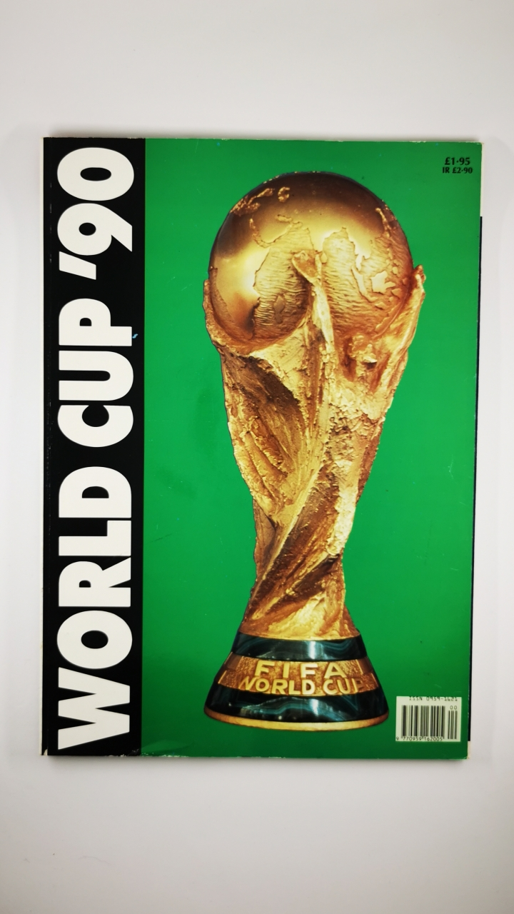 1990 World Cup Italy Tournaent Brochure UK Edition football programme