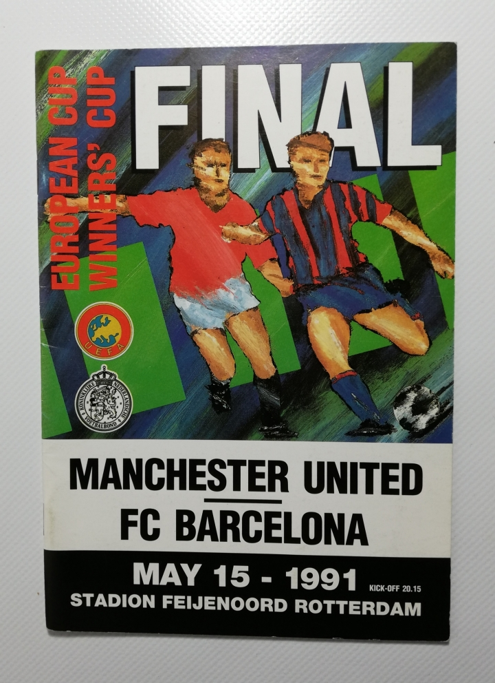 1991 European Cup Winners Cup Final Manchester United vs Barcelona