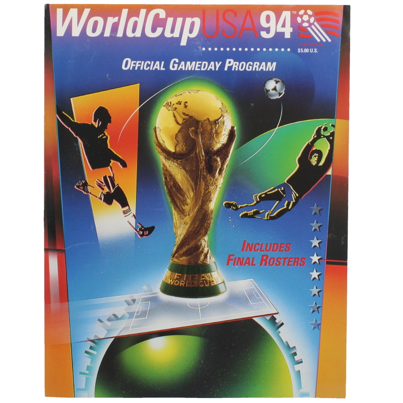 1994 World Cup USA Group Stage Programme football programme