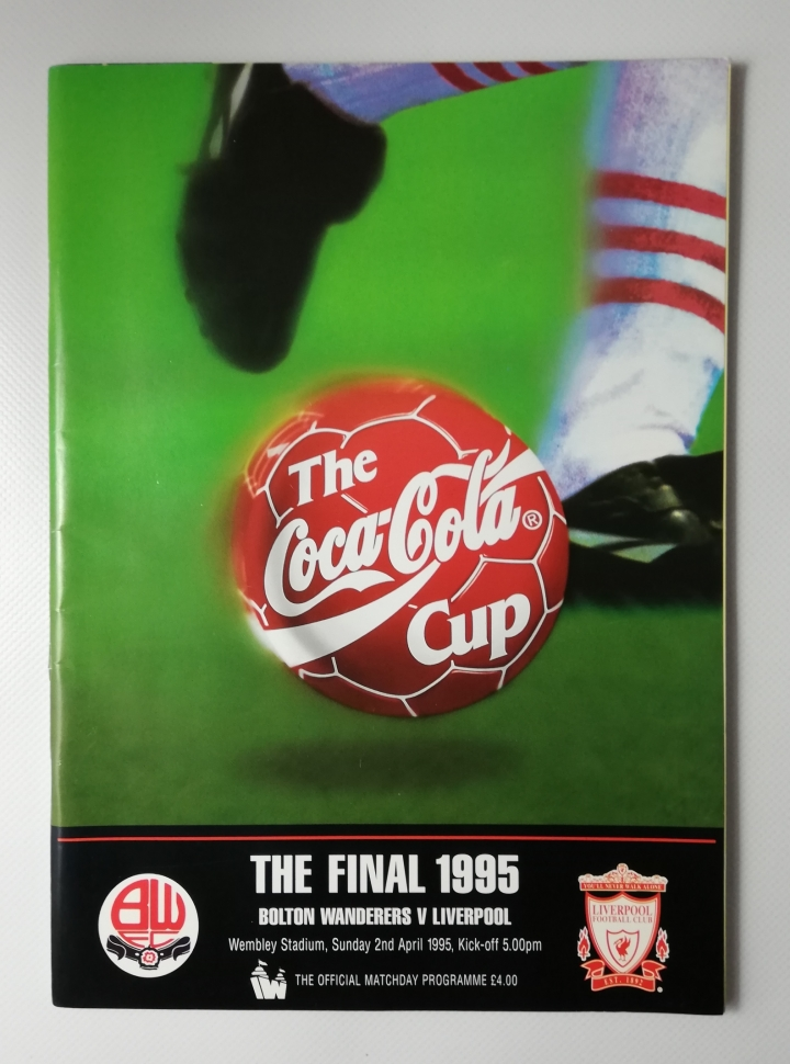 1995 League Cup Final Bolton Wanderers vs Liverpool