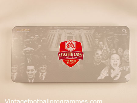 2005-06 Arsenal Member's Pack Last Season at Highbury *Brand New*