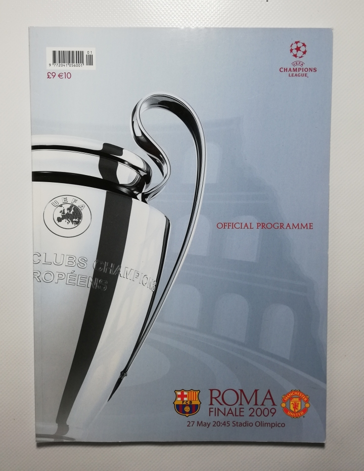 2009 European Cup Final Barcelona vs Manchester United