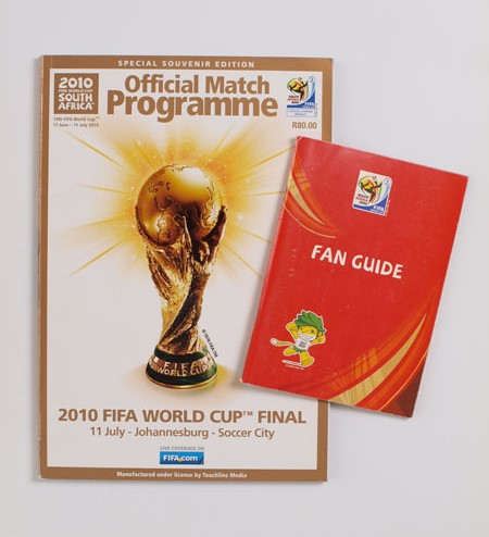 2010 World Cup Match Programme and Fan Guide football programme