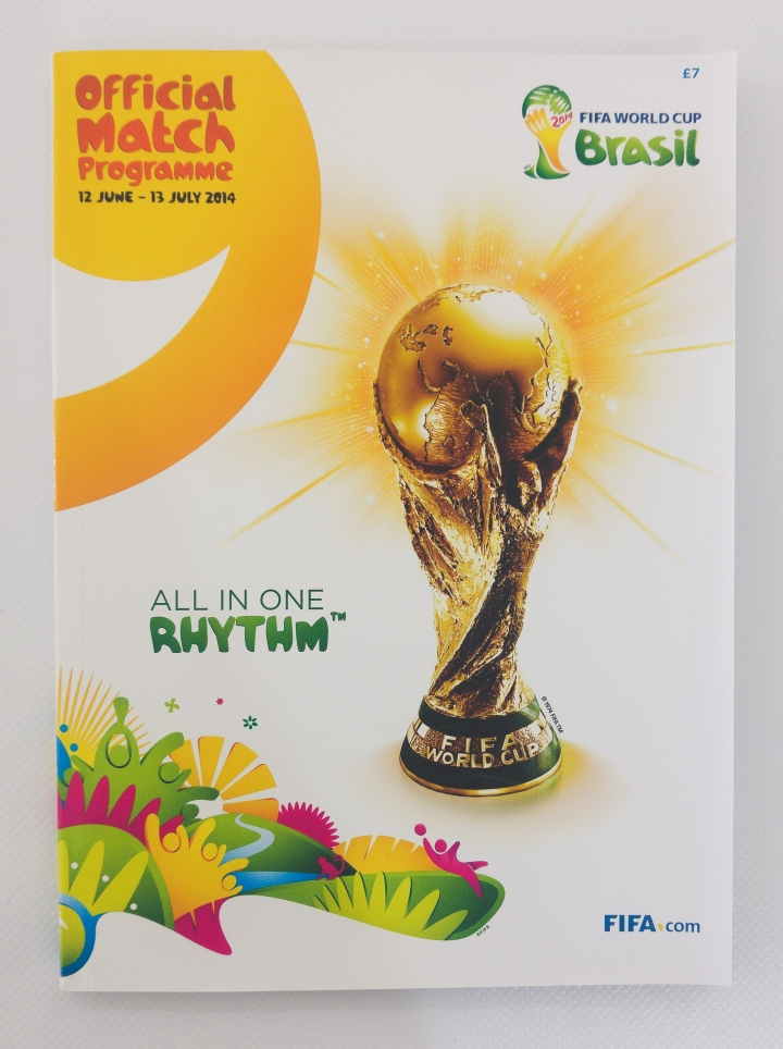 2014 World Cup Programme, Tournament Brochure