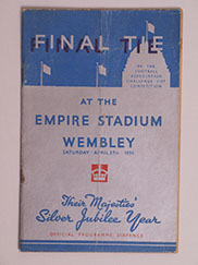 1935 F.A Cup Final Programme, Sheffield Wednesday vs West Bromwich Albion