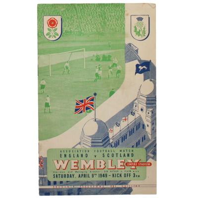 1948-49 England vs Scotland programme