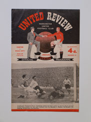 1953-54 Manchester United vs Manchester City