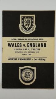 1959 Wales vs England