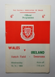 1964-65 Wales vs Northern Ireland George Best Debut