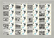 1966 World Cup Final 'Royal Mail Smilers Stamps'