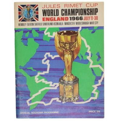 1966 World Cup Programme Tournament Brochure