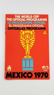 1970 Mexico 1970 World Cup programme UK edition