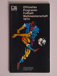 1974 World Cup Programme, Tournament Brochure