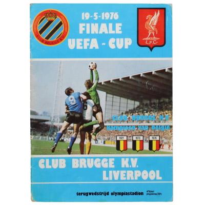 1976 UEFA Cup Final 2nd Leg Club Brugge vs Liverpool