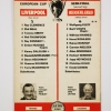 1978 European Cup Semi Final Second leg Liverpool vs Borussia Monchengladbach programme football programme