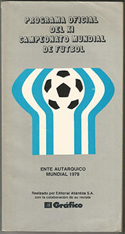 1978 World Cup Official Tournament Brochure