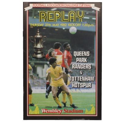 1982 F.A Cup Final Queens Park Rangers vs Tottenham Hotspur