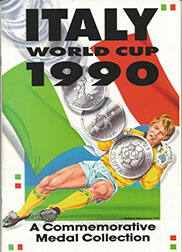 1990 World Cup Medal Collection and Brochure