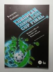 1992 European Cup Final Barcelona vs Sampdoria Programme