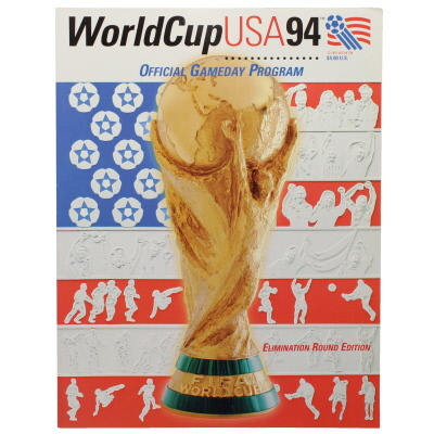1994 World Cup USA Knock Out Stage Programme