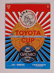 1995 Fifa World Club Championship (Toyota Cup) Final 'Ajax vs Gremio'