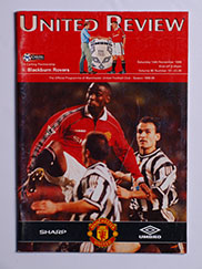 1998-99 Manchester United vs Blackburn 'Treble Season Programme'