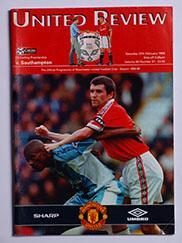 1998-99 Manchester United vs Southampton 'Treble Season Programme'