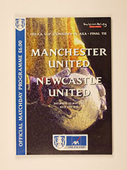 1999 F.A Cup Final 'Manchester United vs Newcastle United' Programme