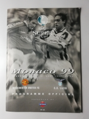 1999 Uefa Super Cup Final Manchester United vs Lazio