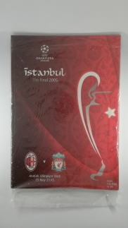 2005 Champions League Final Liverpool vs AC Milan Programme sealed in bag