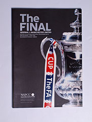 2005 F.A Cup Final 'Arsenal vs Manchester United' Programme
