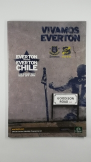 2010-11 Everton vs Everton Chile Friendly