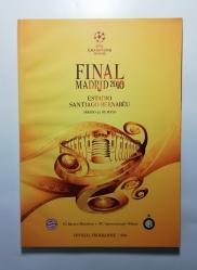 2010 Champions League Final Programme Bayern Munich vs Inter Milan