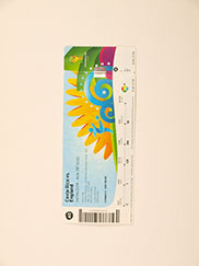 2010 World Cup 'Costa Rica vs England' Ticket