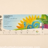 2010 World Cup 'Costa Rica vs England' Ticket football programme