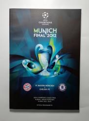 2012 Champions League Final Bayern Munich vs Chelsea