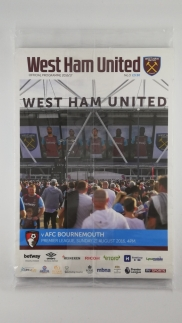 2016-17 West Ham United vs Bournemouth first game at London Stadium