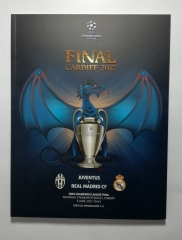 2017 Champions League Final Juventus vs Real Madrid with Kit Card